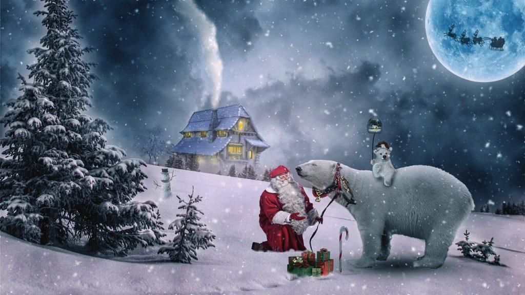Vor Weihnachtswünsche.Weihnachtswünsche