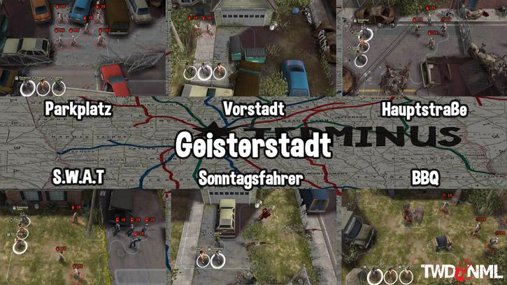 Kartenübersicht - Geisterstadt