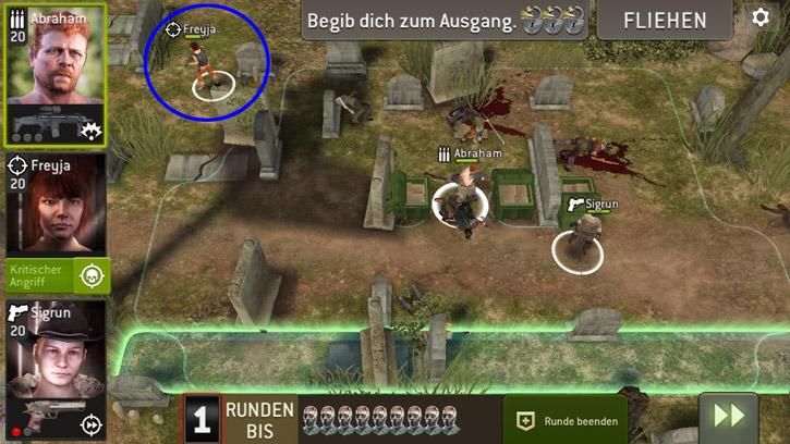 Tödlicher Knochenacker - Aufstellung für Jäger