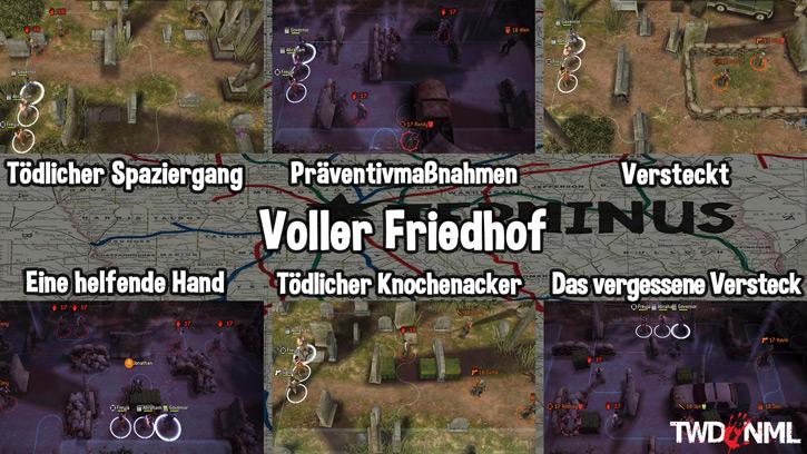Voller Friedhof - Kartenübersicht
