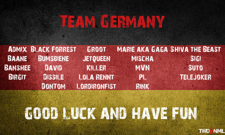 Nation Wars - Team Germany