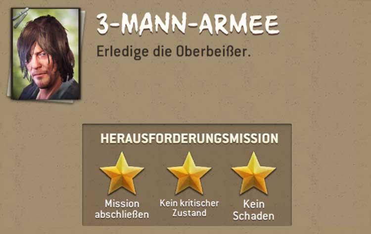Drei Mann Armee