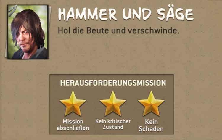 Hammer und Säge