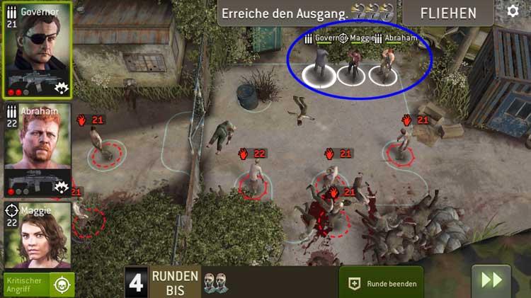 Steinbruchtor - Spawnblock