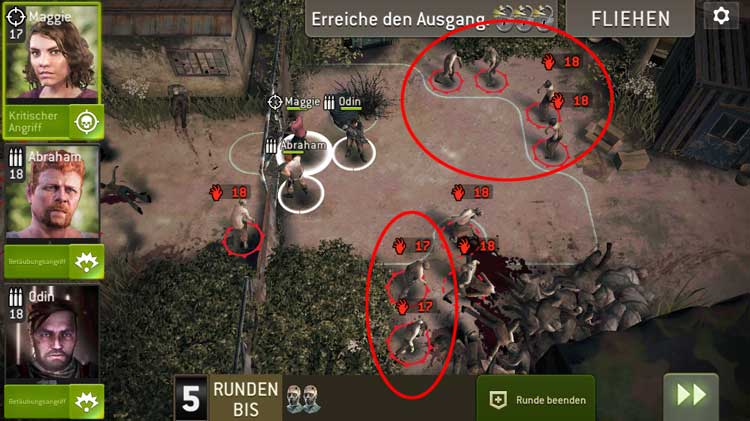 Steinbruchtor - Spawnpunkte