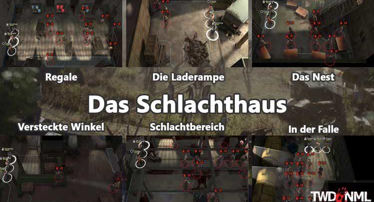 Das Schlachthaus - Kartenübersicht