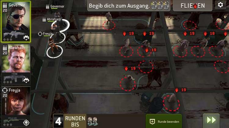 Schlachtbereich - Übersicht