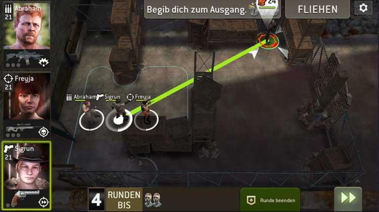 Feindliche Truppen - Aufstellung