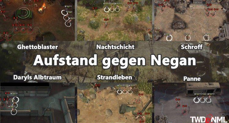 Kartenübersicht - Aufstand gegen Negan