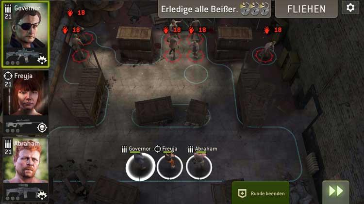 Schlachtraum - Übersicht