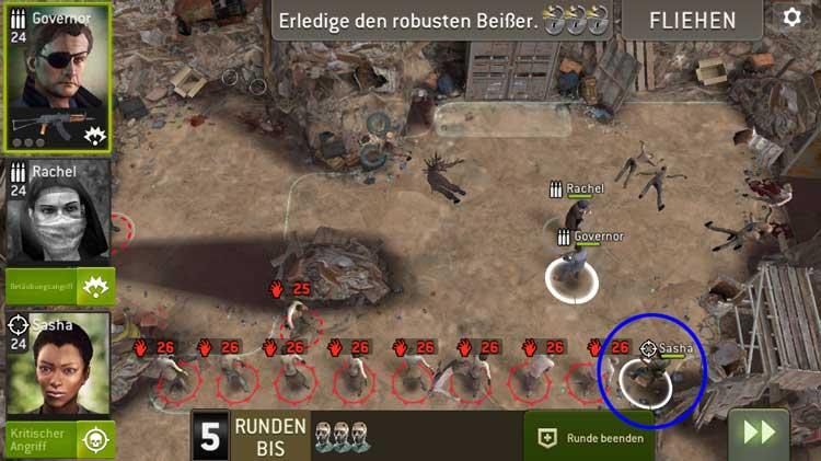 Schroff - Aufstellung Jäger