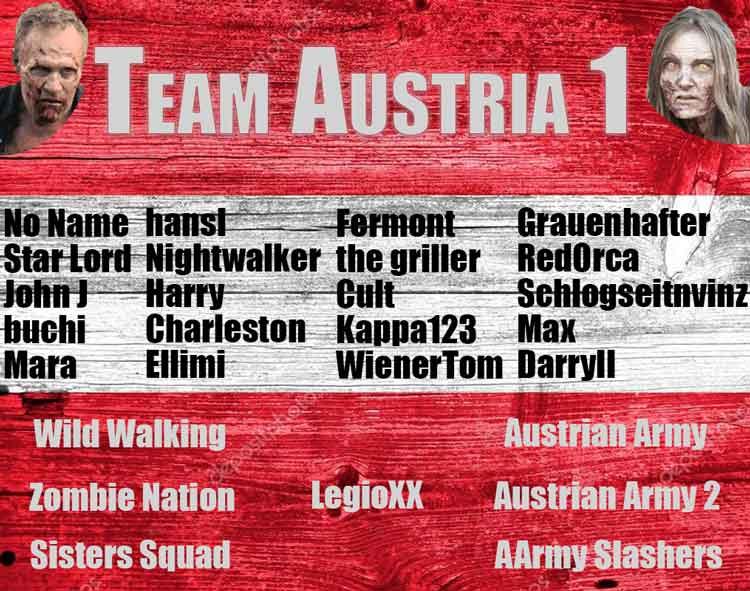 Nation Wars - Team Austria I