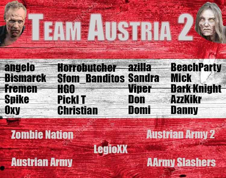 Nation Wars - Team Austria II