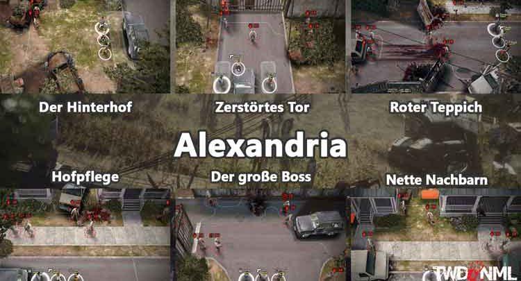 Kartenübersicht - Alexandria