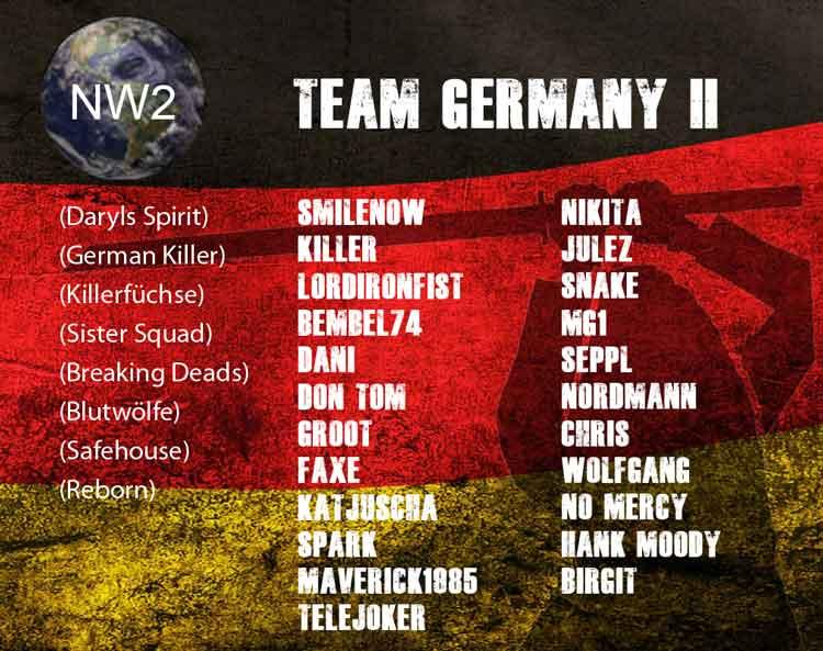 Nation Wars - Team Germany II