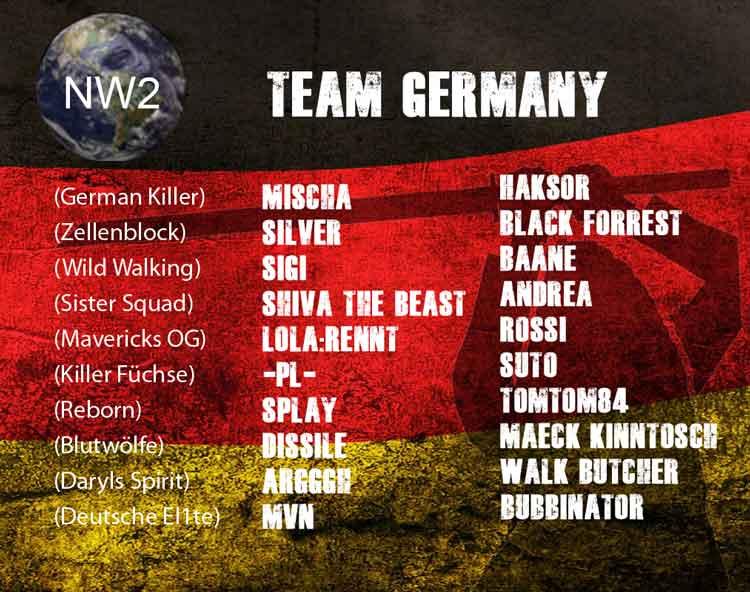Nation Wars - Team Germany I