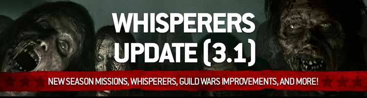 Whisperers Update 3.1 - The Walking Dead No Man's Land