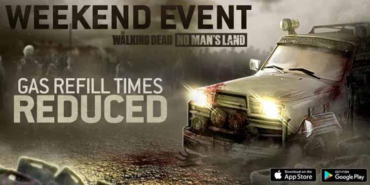 Benzin - The Walking Dead No Man's Land