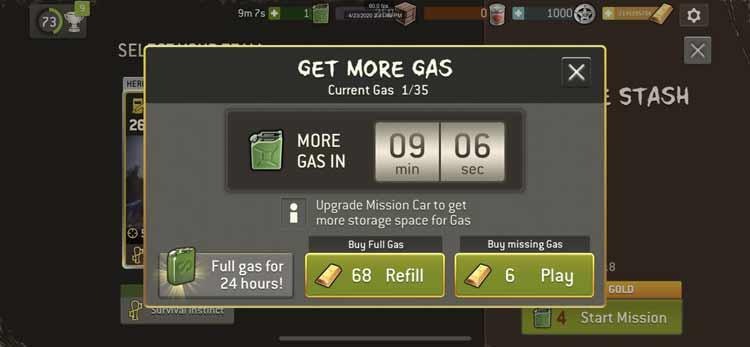 Benzin kaufen - Update 3.8