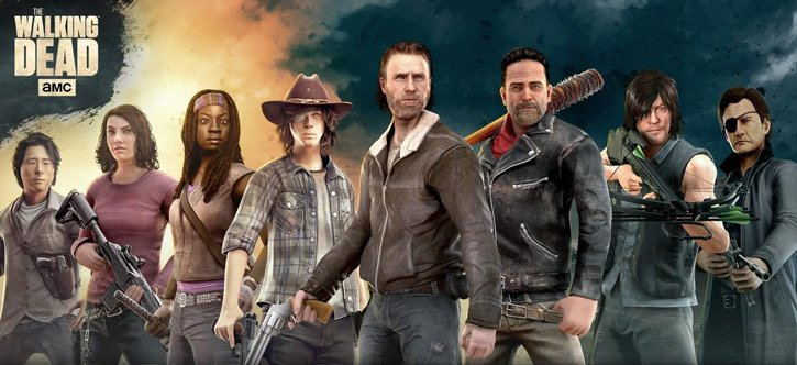 The Walking Dead No Man's Land - Helden