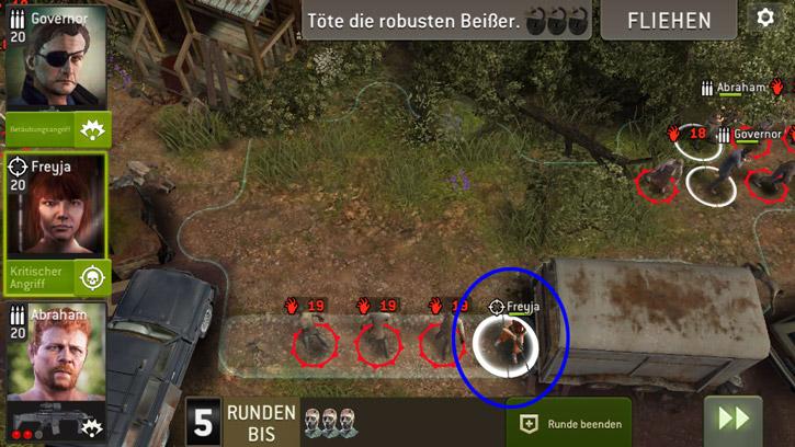 Mächtig Ärger - Aufstellung Jäger